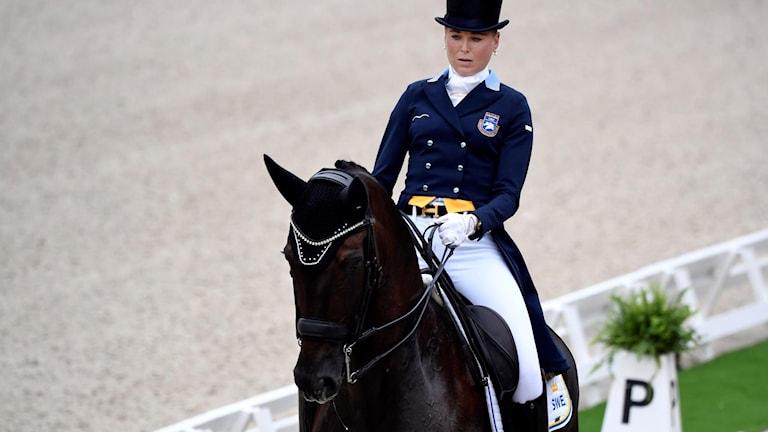 Antonia Ramel och hästen Brother de Jeu.