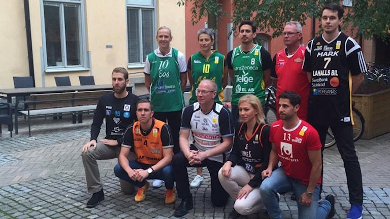 Här är coacherna i Basketligan dam. Foto: Martin Hedberg/SR
