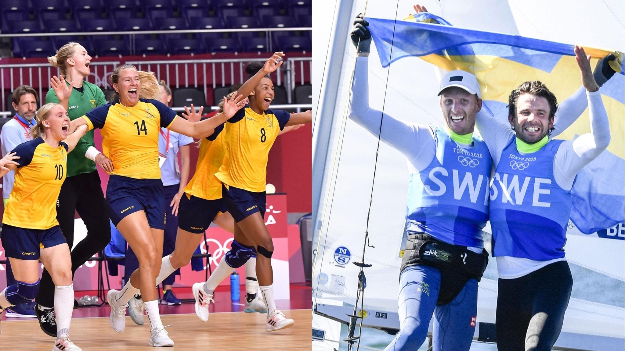 Dagens OS-rubriker: Sjätte svenska medaljen – Sagström leder golfen
