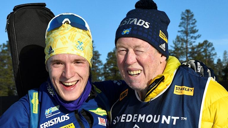 Sebastian Samuelsson och Wolfgang Pichler