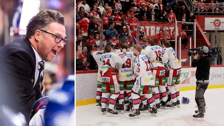 Oskarshamns tränare Håkan Åhlund.