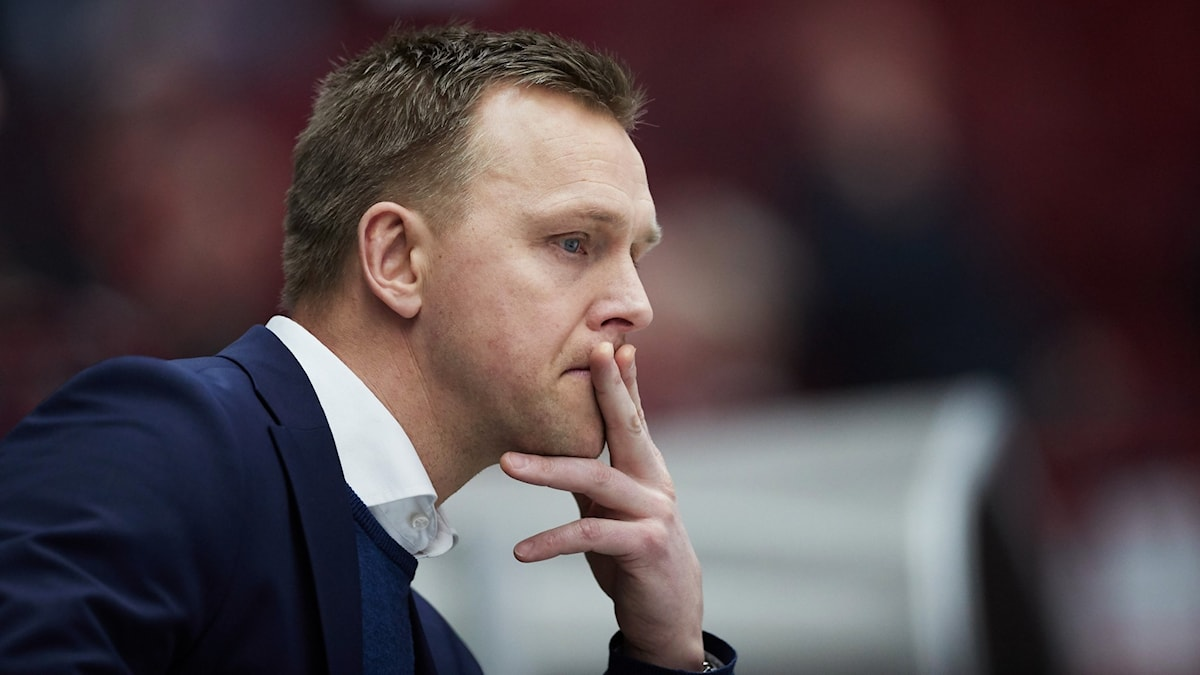 Bert Robertsson under måndagens match mot Malmö.