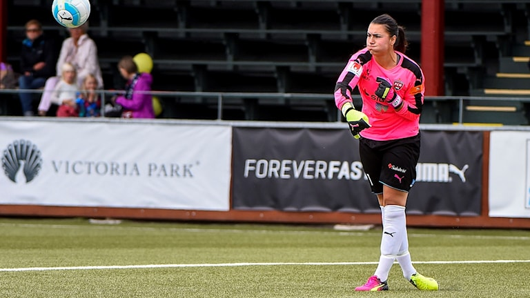 Zecira Musovic blev nyligen uttagen i A-landslaget.
