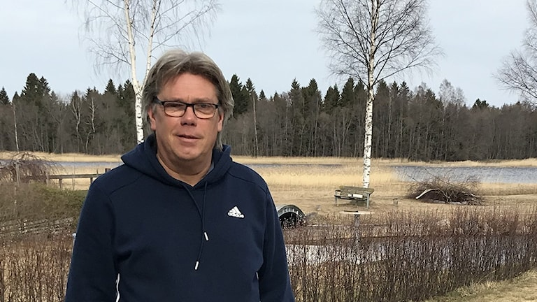 Sandvikens tränare Per Olsson. Foto: Magnus Wahlman/SR