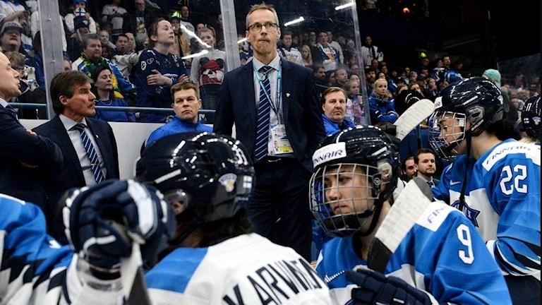 Det var stor frustration i Finland efter det tappade guldet.