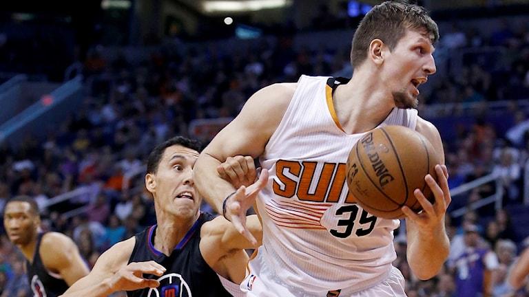2016 Basket Phoenix Suns Mirza Teletovic. Foto: Ross D. Franklin/TT