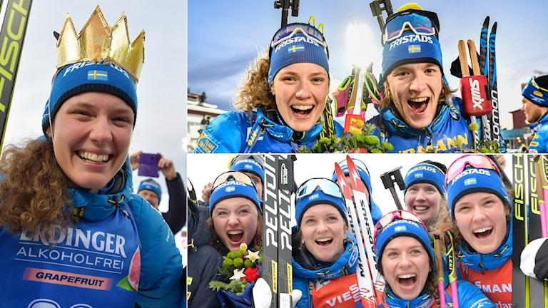 Hanna Öberg blev svensk drottning i Östersund.