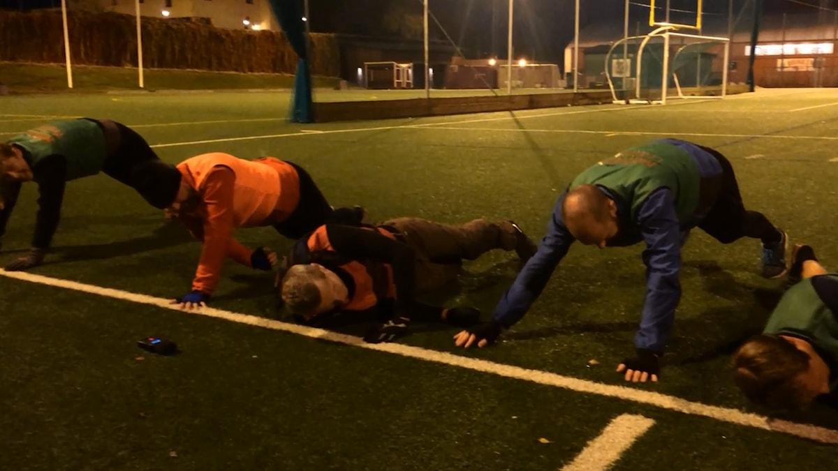 Persson och Marhlo testar motions-Sverige.