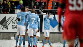 Malmö slog Östersund.