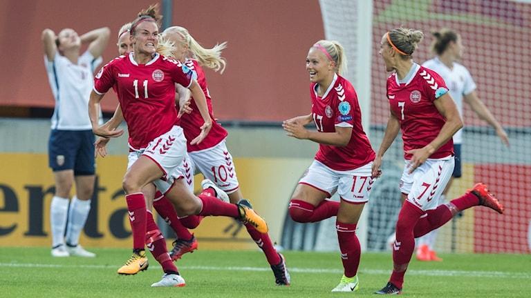 Danskorna besegrade Kroatien.