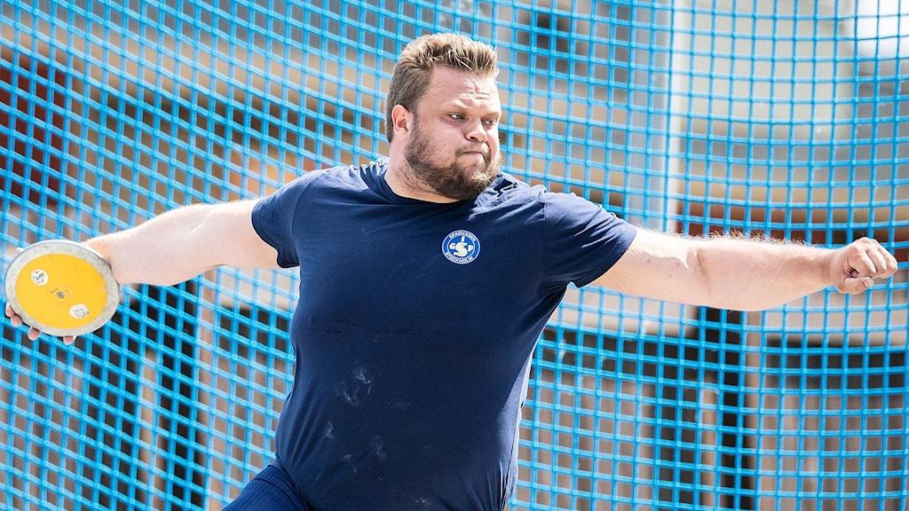 Daniel Ståhl vann igen.