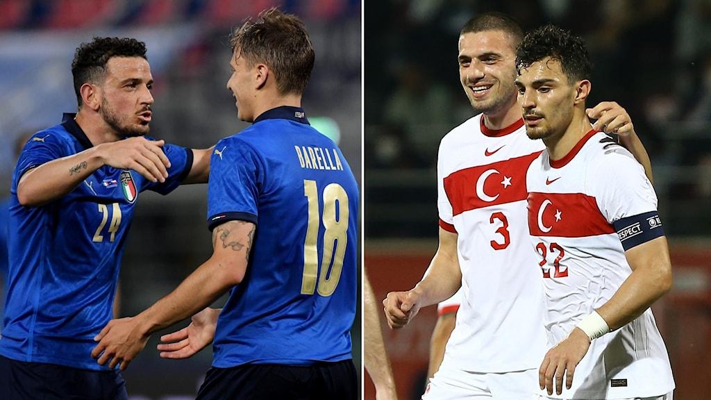 Italien och Turkiet