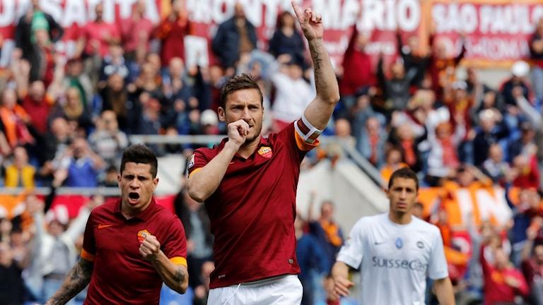 Francesco Totti avslutar spelarkarriären efter den här säsongen.