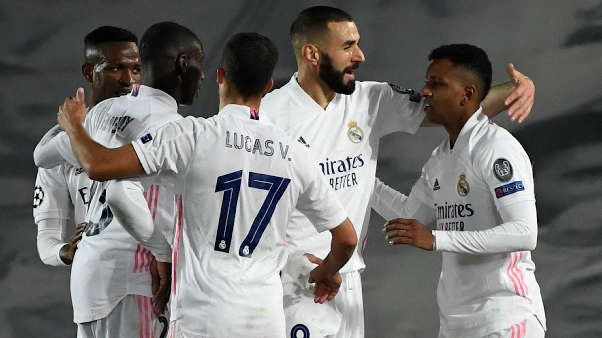 Real Madrid vann mot Inter.