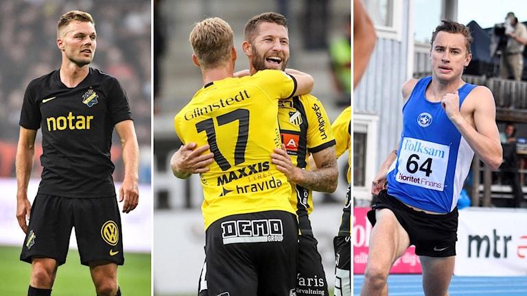 AIK, Häcken och Kalle Berglund i Sportextra.