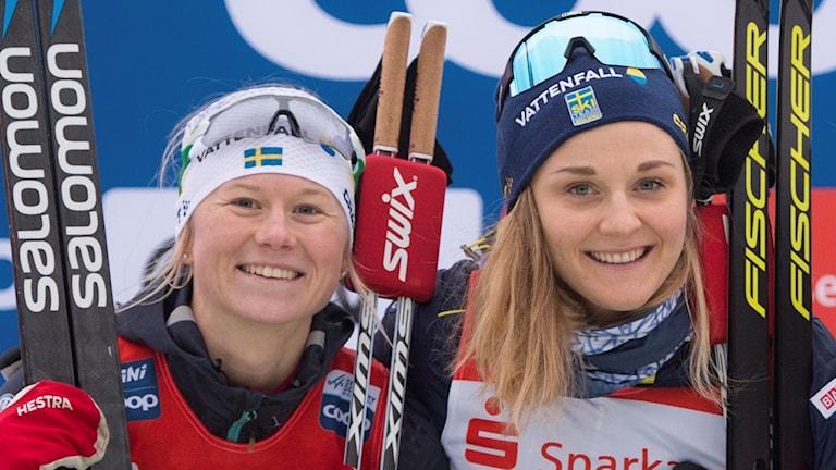 Maja Dahlqvist och Stina Nilsson