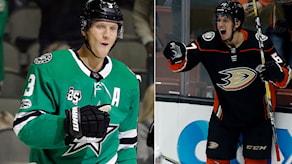 John Klingberg och Rickard Rakell är uttagna till NHL:s allstar-match.