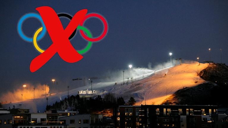 Det ser inte ut att bli något OS i Stockholm 2026.