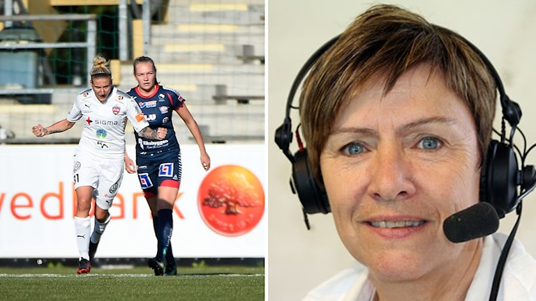 Anette Börjesson om guldstriden mellan Linköping och Rosengård.