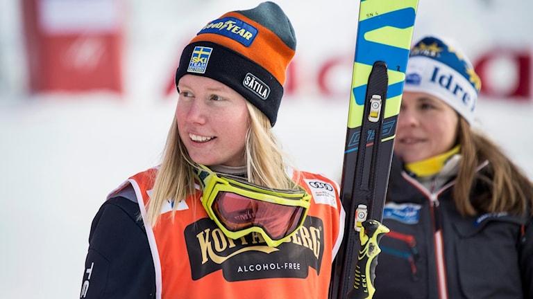 Sandra Näslund åker till OS som guldfavorit.