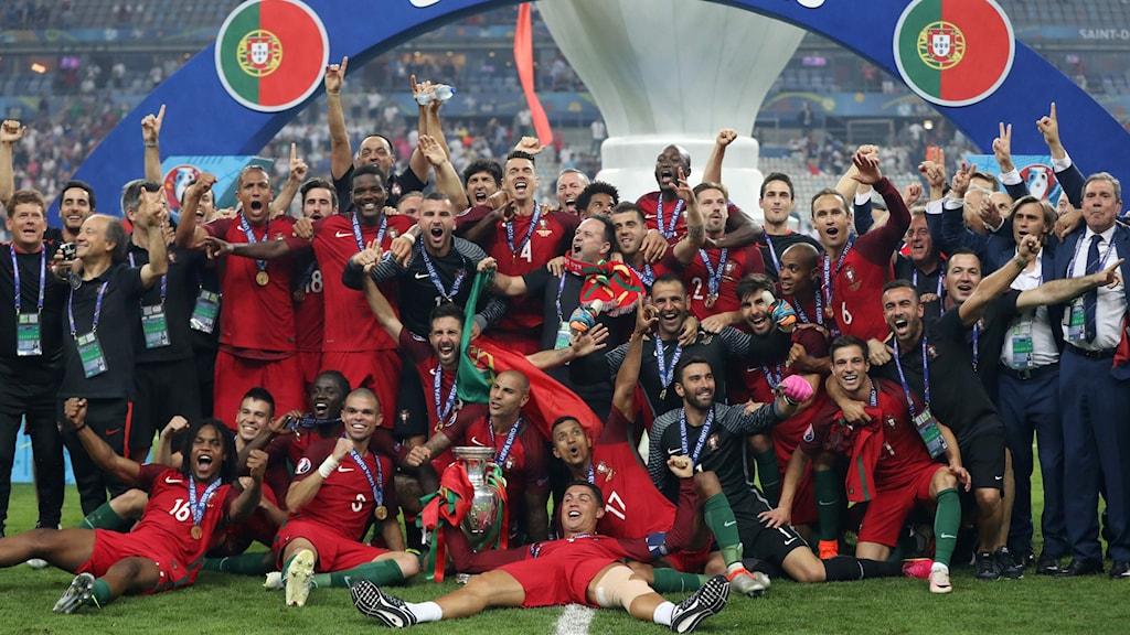 Portugal mästare.