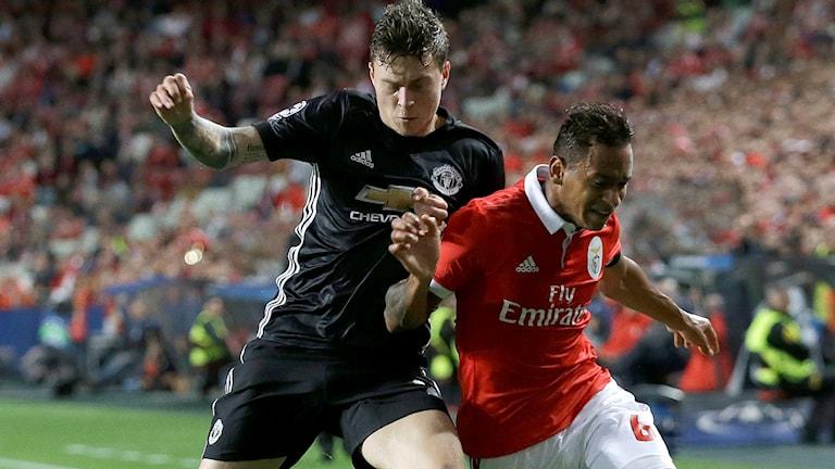 Victor Nilsson Lindelöfs United ställs mot Benfica.