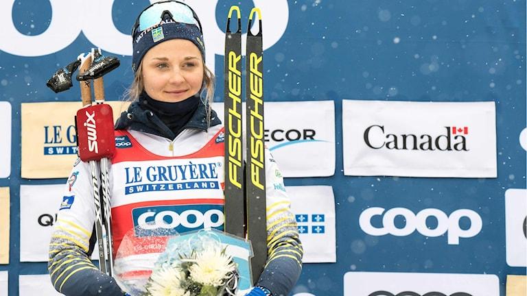 Stina Nilsson vann den totala sprintcupen.