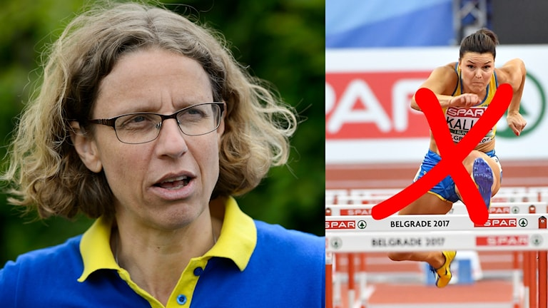 Sverige förbundskapten i friidrott, Karin Torneklint.