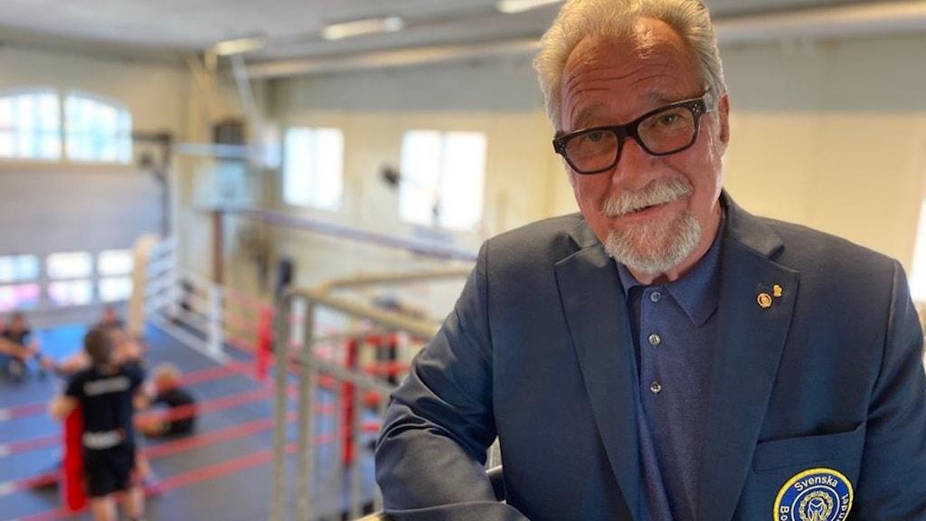 Per-Axel Sjöholm, ordförande svenska boxningsförbundet.