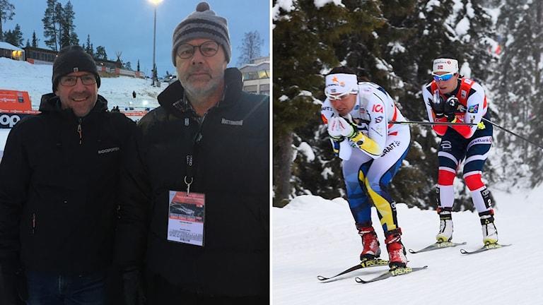 Torgny Mogren och Dag Malmqvist refererade hem Kallas seger.