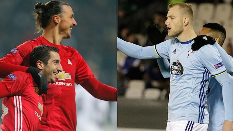 Zlatan och Guidetti målskyttar.