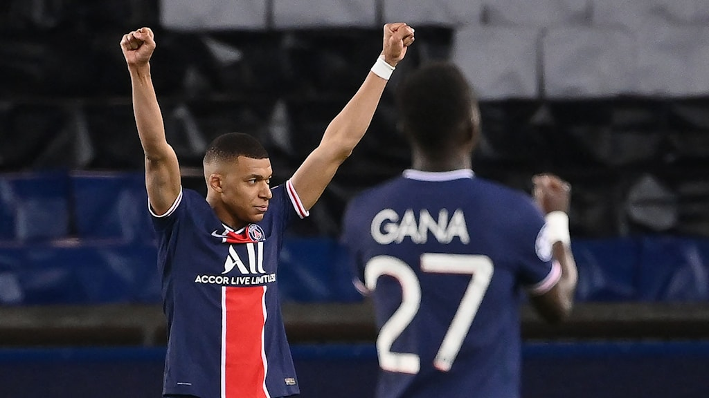 PSG Kylian Mbappe. Foto: FRANCK FIFE/AFP