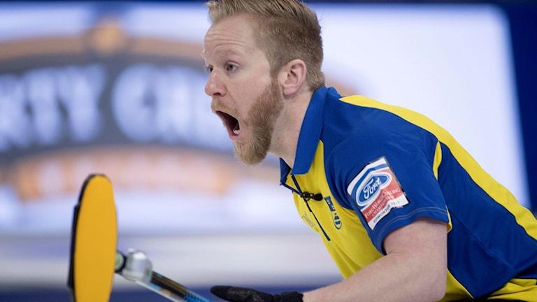 Lag Niklas Edin klart för VM-final.