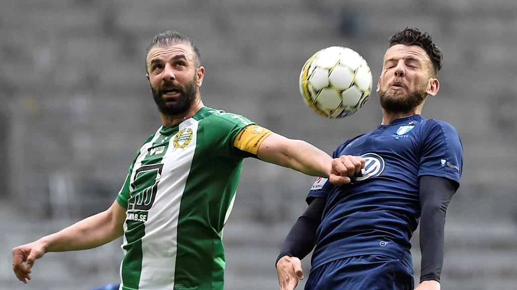 Hammarby och Malmö delade på poängen.