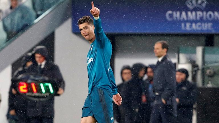 Cristiano Ronaldo stod för ett storartat mål för Real Madrid.