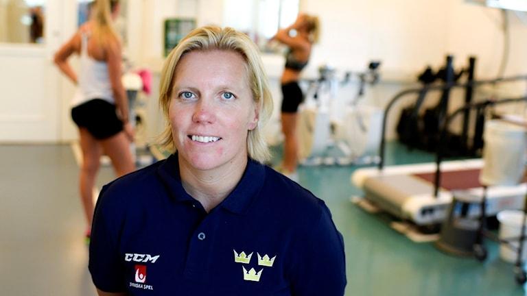 Damkronornas förbundskapten Ylva Martinsen.