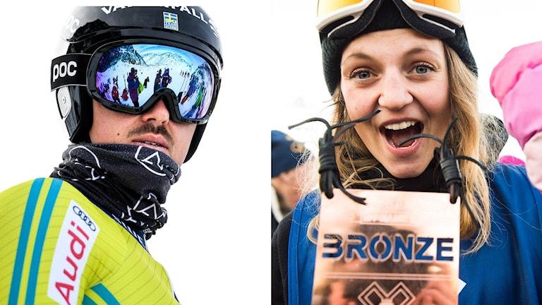 André Myhrer och Emma Dahlström.