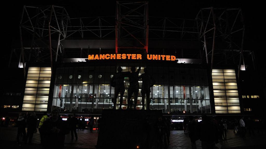 Uniteds hemmaarena Old Trafford