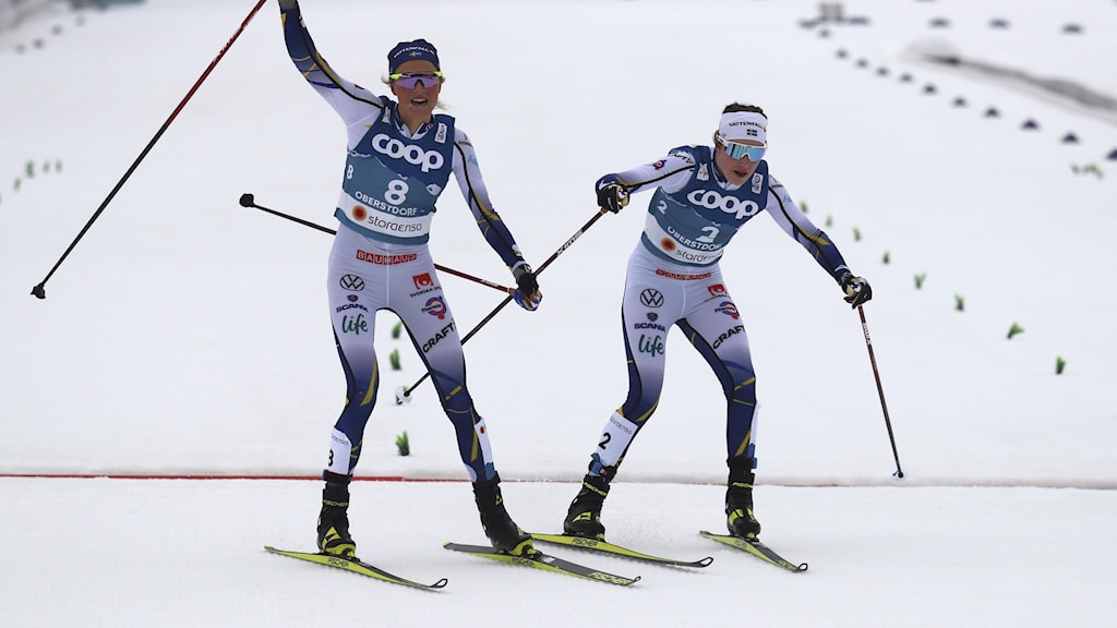 Frida Karlsson och Ebba Andersson.