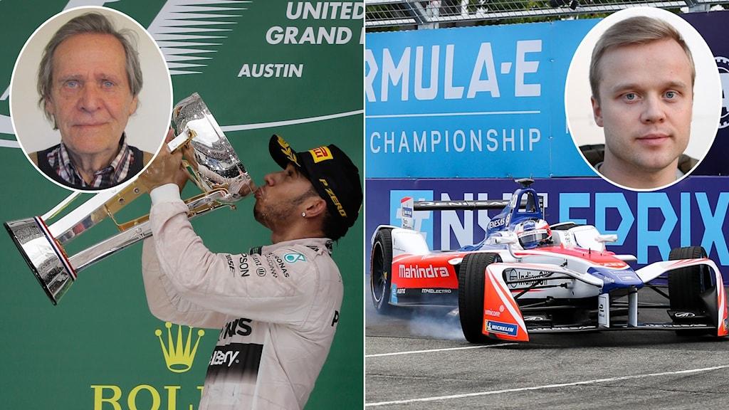 Fredrik af Petersens och Felix Rosenqvist om motorsportens 10-tal.