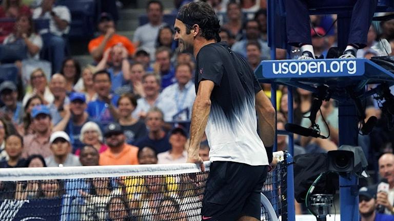 Roger Federer vidare i US Open.