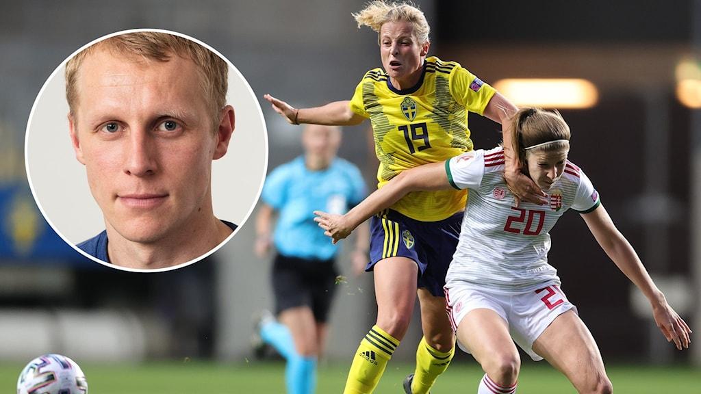 Ricahrd Henriksson / Anna Anvegård mot Ungern.