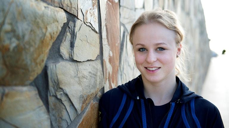 Jonna Adlerteg gjorde sin första tävling på 1,5 år.