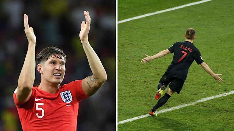 England eller Kroatien -- vilket lag får Frankrike möta i finalen?