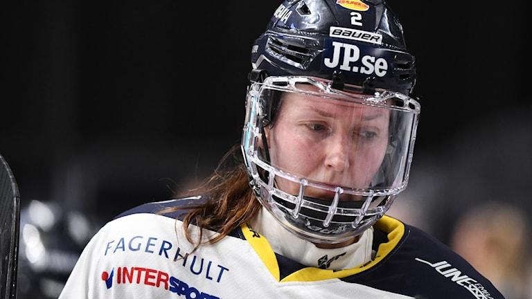 HV 71s Rosa Lindstedt.