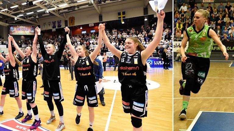 Luleå vann den första finalmatchen i bäst av fem.