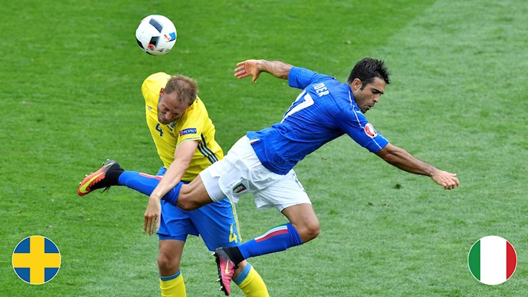 Matchguide Sverige-Italien. Foto: Anders Wiklund/TT