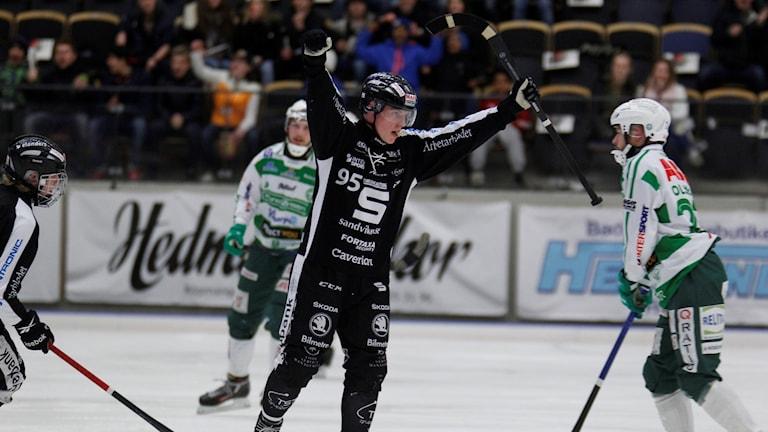 Erik Pettersson-jubel mot Västerås.