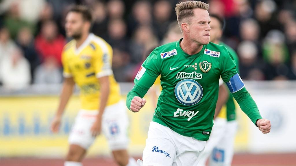 Tommy Thelin gjorde två av Jönköpings mål.