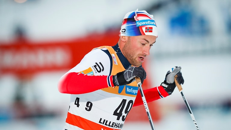 Petter Northug i Lillehammer.
